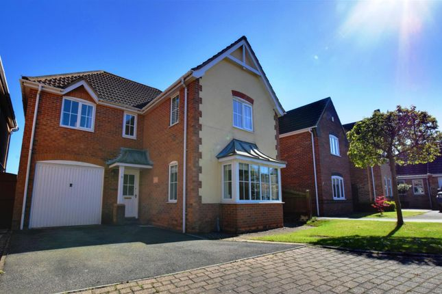 4 bed detached house for sale in Stutte Close, Louth