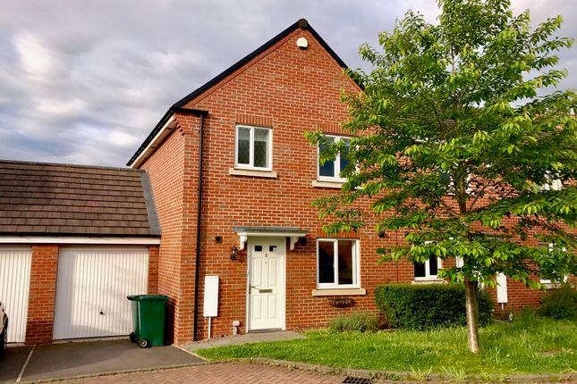 Thumbnail End terrace house to rent in Border Court, Coventry