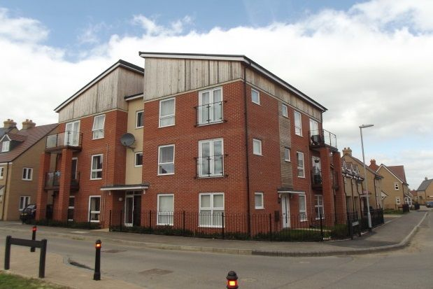 Thumbnail Flat to rent in Rutherford Way, Biggleswade