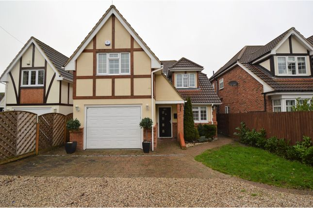 Thumbnail Detached house for sale in Mountnessing Road, Billericay