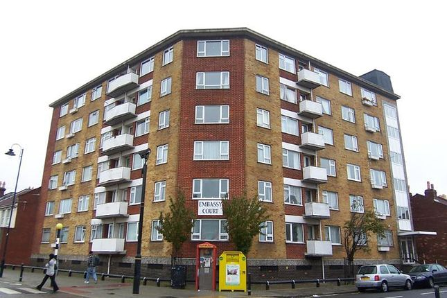 Thumbnail Flat to rent in Embassy Court, Bramble Road, Southsea