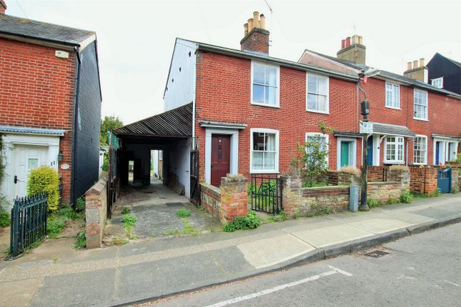 Thumbnail End terrace house for sale in Castle Road, Colchester, Essex