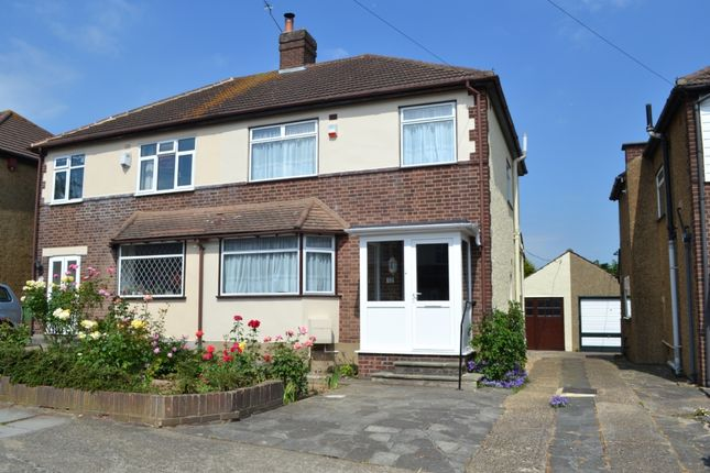 3 bed semi-detached house to rent in Thurso Close, Harold Wood, Romford