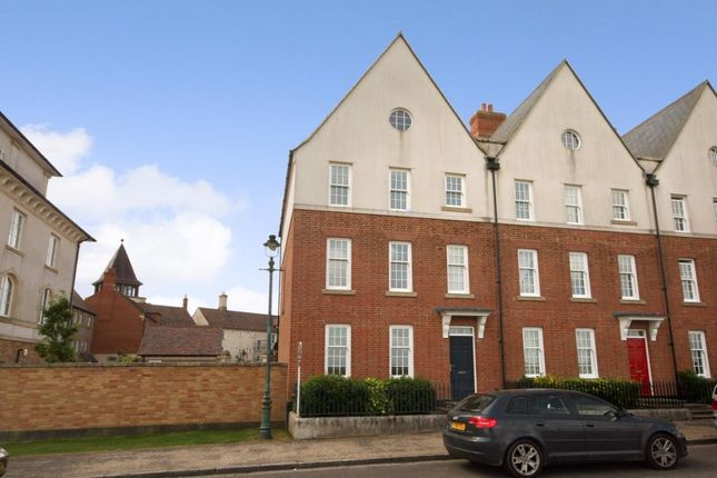 Thumbnail End terrace house to rent in Great Cranford Street, Poundbury, Dorchester, Dorset