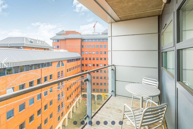 Thumbnail 1 bed flat to rent in Millennium Point, The Quays, Salford, Lancashire