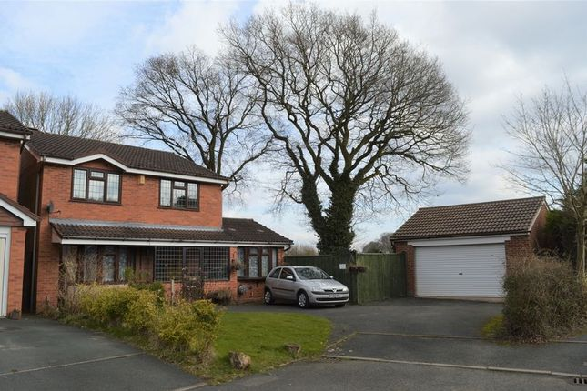 Thumbnail Detached house for sale in Ivatt Close, Stirchley Lane, Telford, Shropshire.