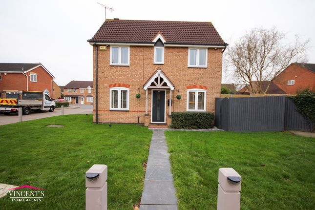 Thumbnail Link-detached house for sale in Acacia Close, Leicester Forest East, Leicester