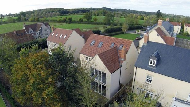 Thumbnail Detached house for sale in Butleigh, Glastonbury