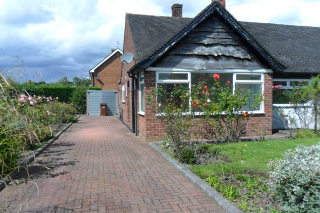 Thumbnail Bungalow to rent in Manor Close, Congleton