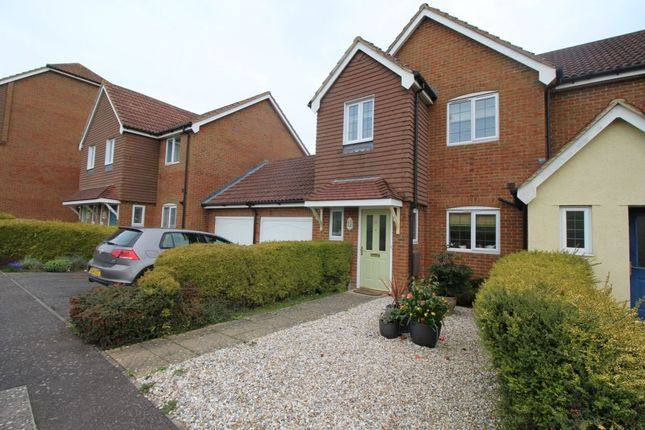 Thumbnail Semi-detached house to rent in Brisley Close, Kingsnorth, Ashford