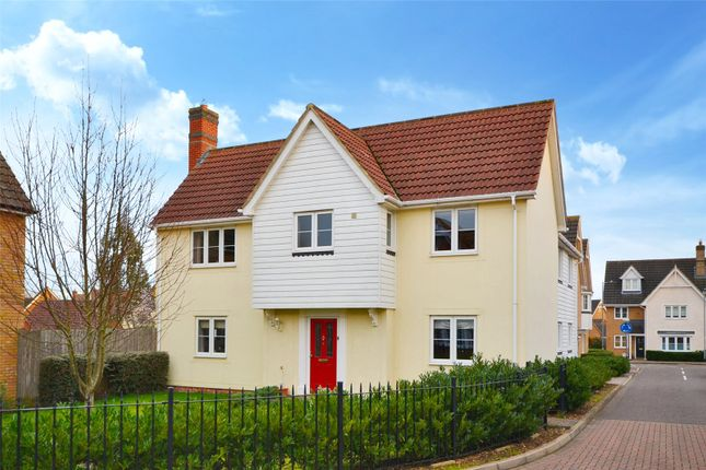 4 bed detached house for sale in Birch Road, Dunmow CM6