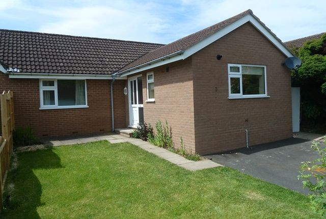 Thumbnail Semi-detached bungalow to rent in 1A Hill View, Lawley Close, Church Stretton