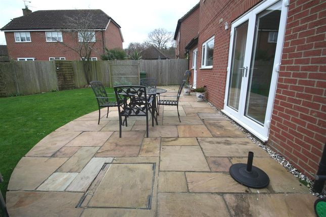 Garden Patio of Lychpit, Basingstoke, Hampshire RG24