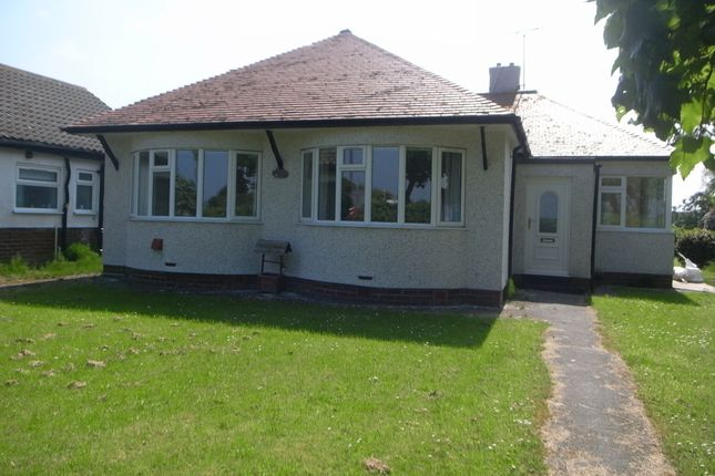 Thumbnail Detached bungalow to rent in Towyn Road, Towyn, Conwy
