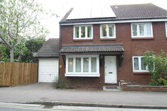 Thumbnail Semi-detached house for sale in Savage Gardens, Beckton