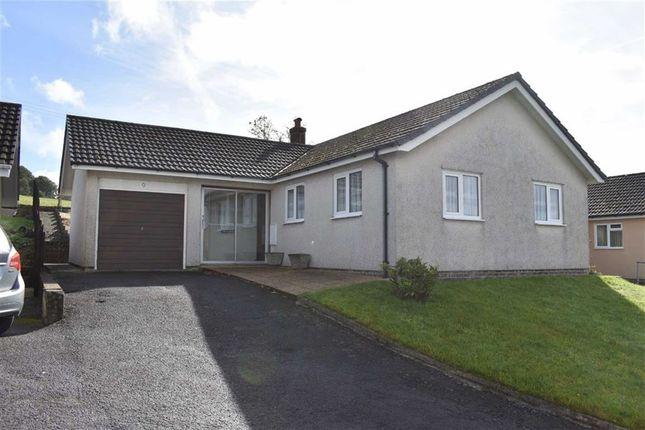 Thumbnail Detached bungalow for sale in Pwllswyddog, Tregaron