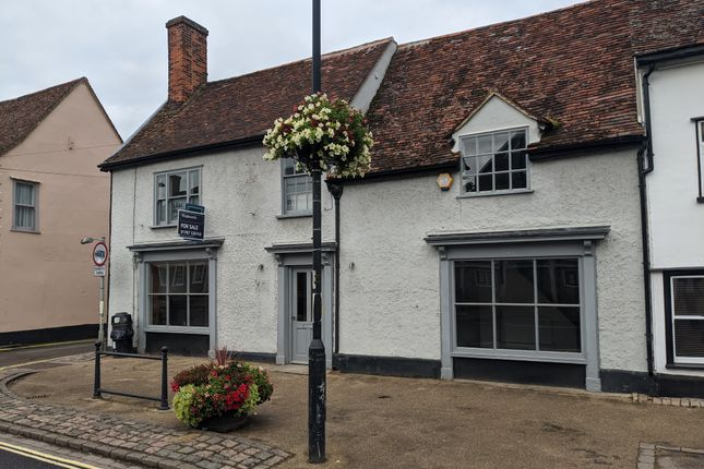 Thumbnail Commercial property for sale in Hall Street, Long Melford, Sudbury
