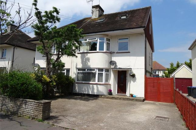 Thumbnail Semi-detached house for sale in Ardsheal Close, Broadwater, Worthing