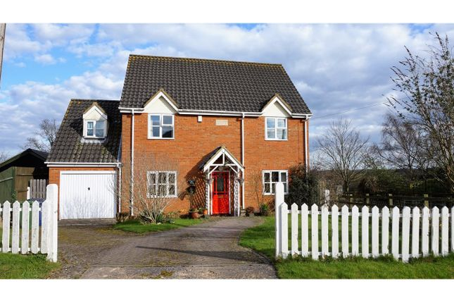 Thumbnail Detached house for sale in School Lane, Bythorn, Huntingdon