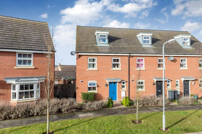 Thumbnail Town house for sale in Patenall Way, Higham Ferrers, Rushden