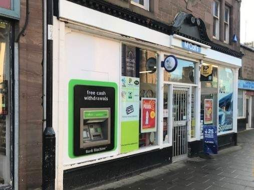 Retail premises for sale in Forfar, Tayside