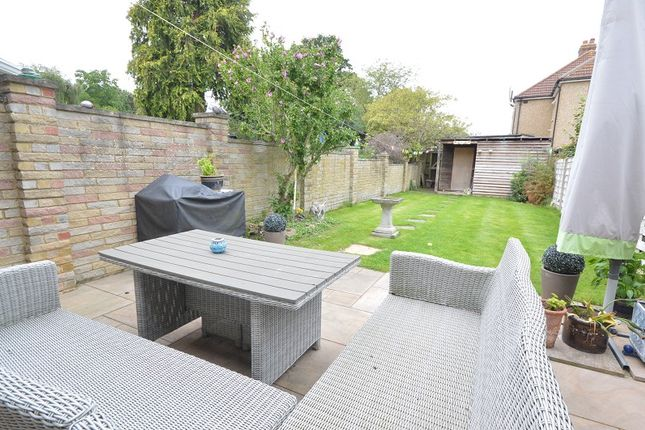 Garden of Church Lane, Chessington, Surrey. KT9