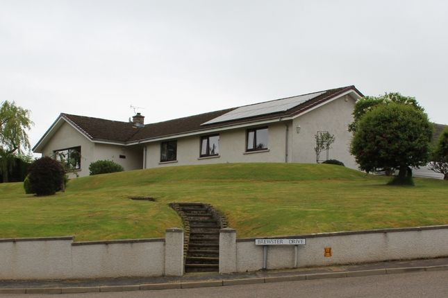 Thumbnail Detached bungalow for sale in Mackenzie Drive, Forres