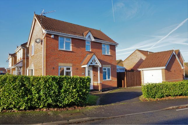 Thumbnail Link-detached house for sale in Owen Close, Leicester