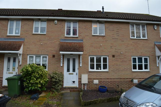 Thumbnail Terraced house for sale in Wallace Close, King's Lynn