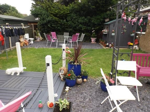 Garden of Dyserth Road, Rhyl, Denbighshire LL18