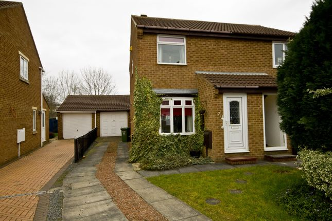 Thumbnail Semi-detached house for sale in Castle Close, Stockton-On-Tees
