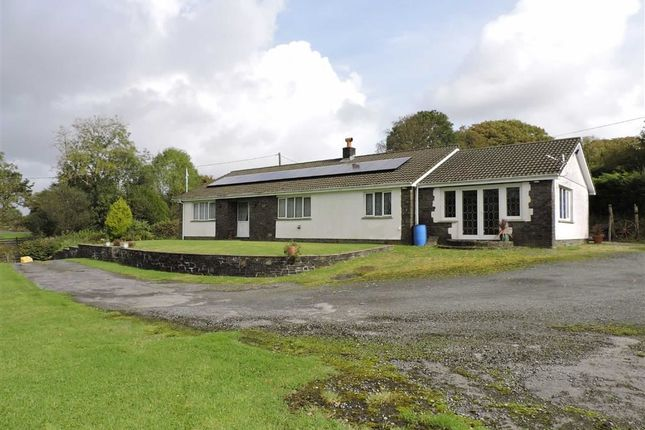 Thumbnail Detached bungalow for sale in Argoed Road, Betws, Ammanford