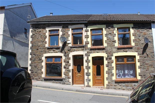 Thumbnail End terrace house for sale in Court Street, Tonypandy, Rhondda Cynon Taff.