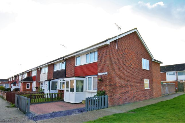 Thumbnail End terrace house for sale in Edmund Road, Witham