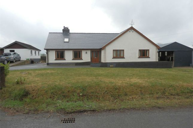 Thumbnail Detached bungalow for sale in Gwenlli, Synod Inn, Nr New Quay, Ceredigion