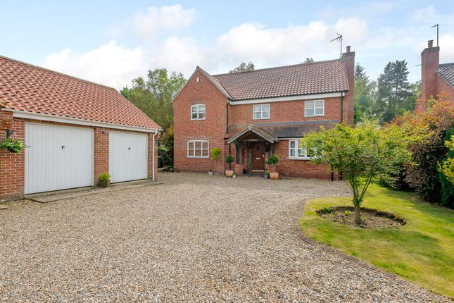 Thumbnail Detached house for sale in Bracken Close, Stratton Strawless, Norwich