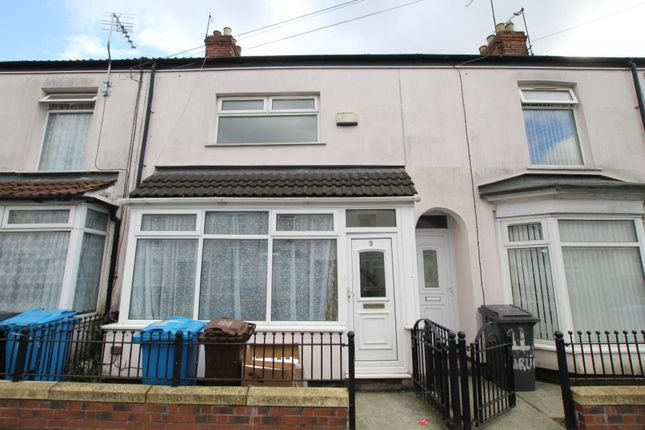Thumbnail Terraced house to rent in Airlie Street, Hull