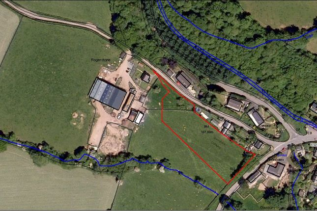Thumbnail Land for sale in Cwm-Bach, Glasbury