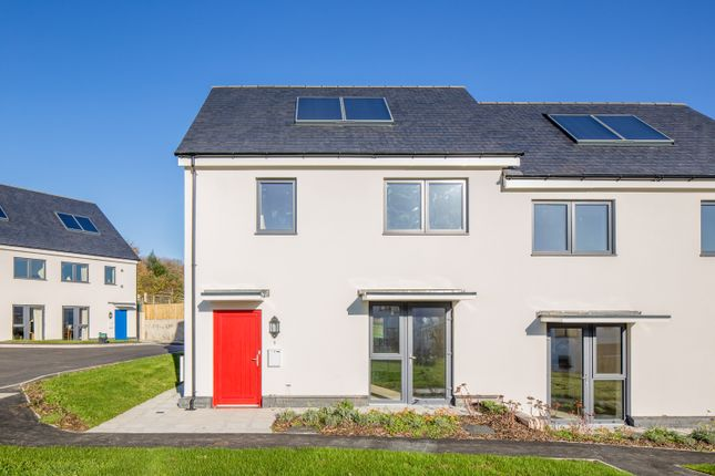 Thumbnail Semi-detached house for sale in 9 Stafford Close, Layne Fields, Christow, Exeter, Devon