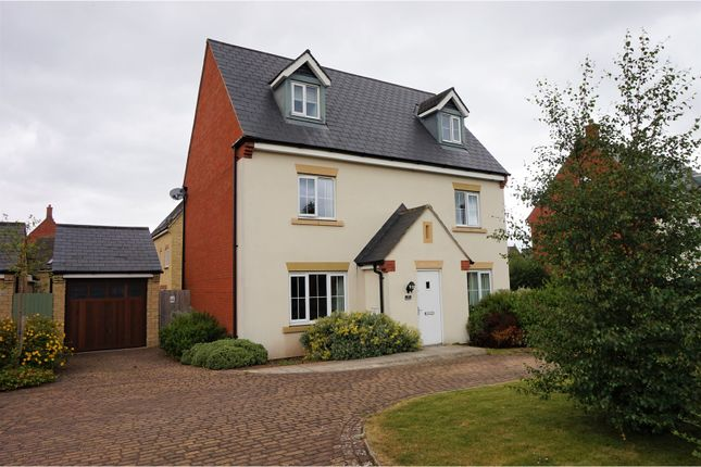 Thumbnail Detached house for sale in Evesham Road, Bishops Cleeve, Cheltenham