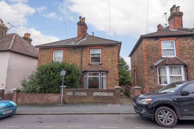 Thumbnail Semi-detached house for sale in Denzil Road, Guildford
