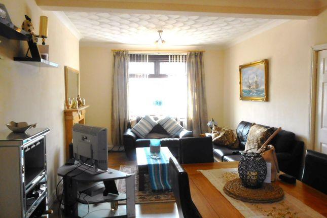 Thumbnail Terraced house to rent in Caiach Terrace, Trelewis, Treharris