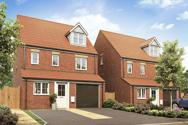 "Thumbnail Detached house for sale in ""The Rockingham"" at Market View, Dorman Avenue South, Aylesham, Canterbury"