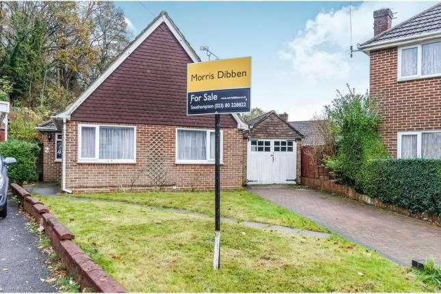 Thumbnail Bungalow for sale in Dale Valley Gardens, Southampton