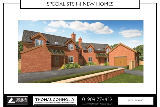 Thumbnail Detached house for sale in Wood End, Little Horwood, Milton Keynes