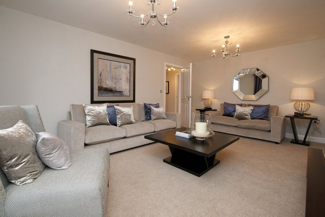 "Thumbnail Detached house for sale in ""Harrogate"" at St. Johns View, St. Athan, Barry"
