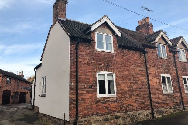 Thumbnail Cottage to rent in Main Street, Stanton By Dale, Derbys