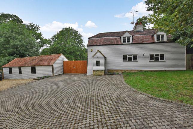 Thumbnail Detached house for sale in Noak Hill Road, Noak Hill, Romford