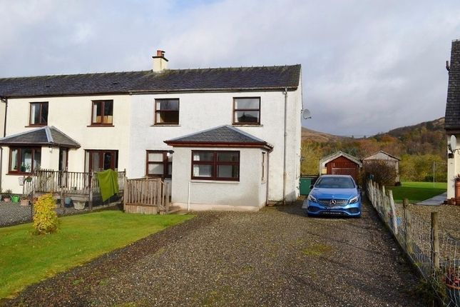 Terraced house for sale in Forest View, Strachur, Argyll And Bute