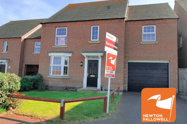 Thumbnail Detached house for sale in Sanderling Way, Forest Town, Mansfield